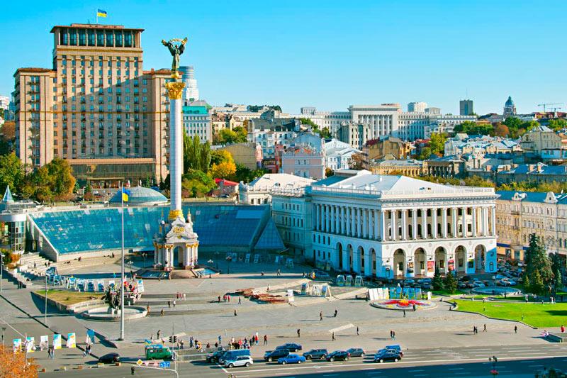 Plaza de la Independencia 1 Kiev Ucrania - Qué ver en Kiev, antes o después del triunfo del Real Madrid
