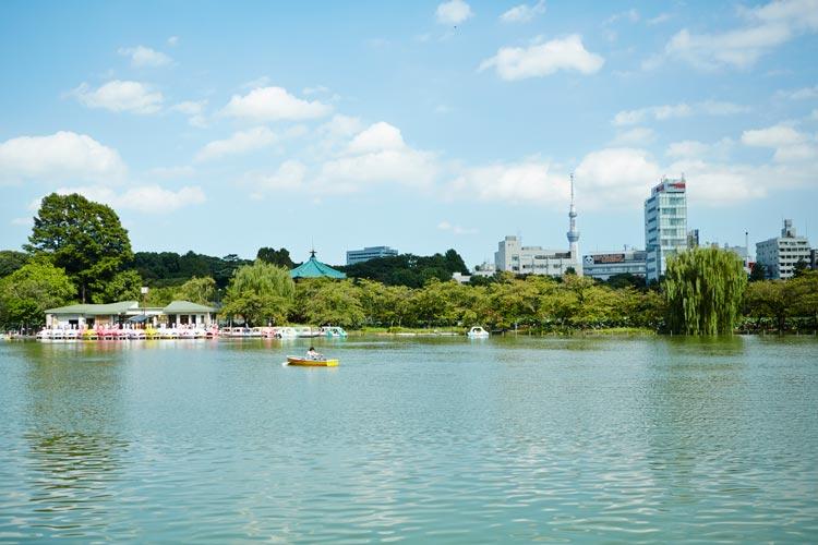 Ueno Park Shinobazu PondTokio - Un verano tokiota de festival y color