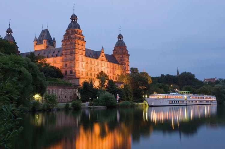 Main Aschaffenburg ch teau Johannisburg - Descubrir el Rin romántico con comidas y bebidas gratis, y otras ventajas