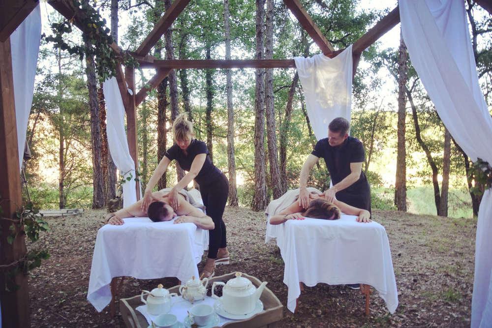 Wellness La Vella Farga 1 b - Masajes en el bosque, la propuesta wellness más natural y revitalizante del hotel La Vella Farga