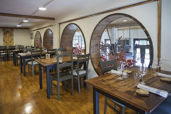 Sala de arriba Lena - Nace Lena, un nuevo concepto de sidrería gastronómica