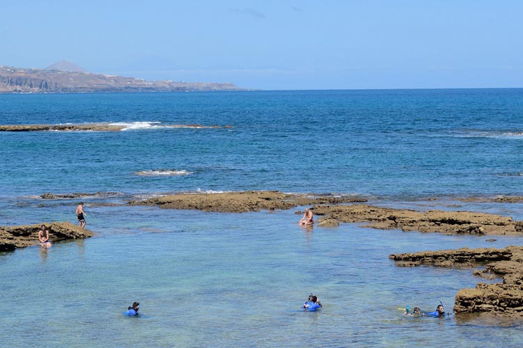 Tony Hernández 2 Las Palmas de Gran Canaria Las Cantera Islas Canarias - Las Canteras, entre las mejores playas españolas para familias