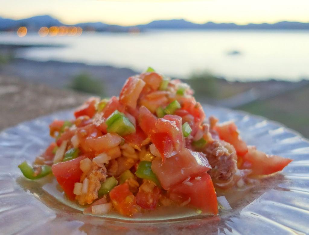 Trampo mallorquin Miguel Duran Perello - Cuatro islas, cuatro recetas frescas de verano con mucho carácter