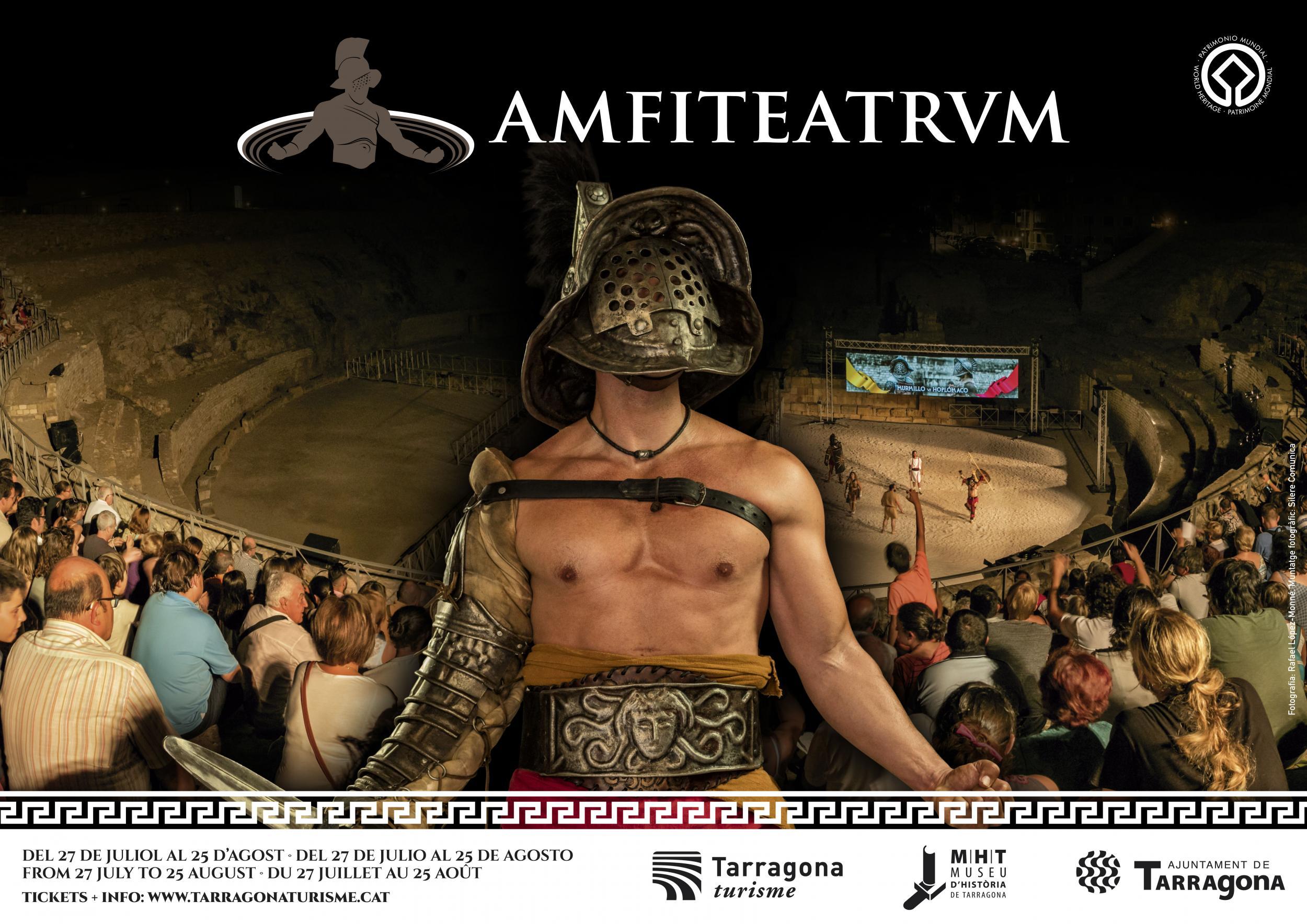 creativitat final definitiva amfiteatrum high resscorrecc - 'AMFITEATRVM', EL NUEVO Y ESPECTACULAR VIAJE AL PASADO ROMANO DE TARRAGONA PARA ESTE VERANO