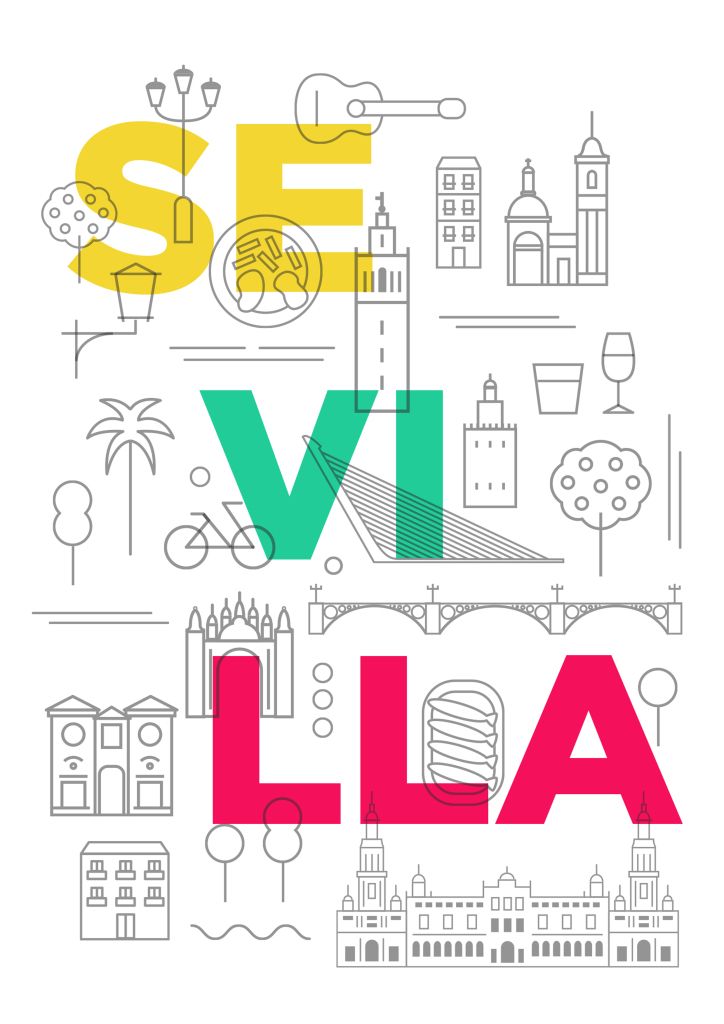 guia sevilla portada - Facebook presenta una guía para descubrir Sevilla creada por su comunidad
