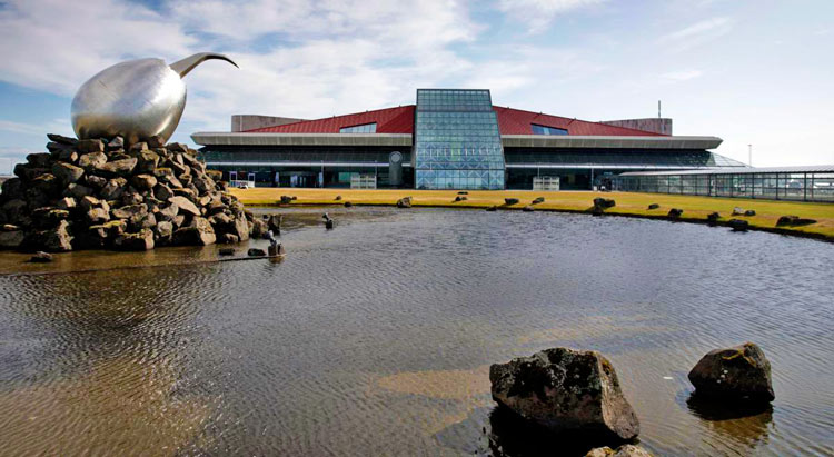 Aeropuerto Keflavík en Reykjavik - Los 5 mejores aeropuertos para hacer escala