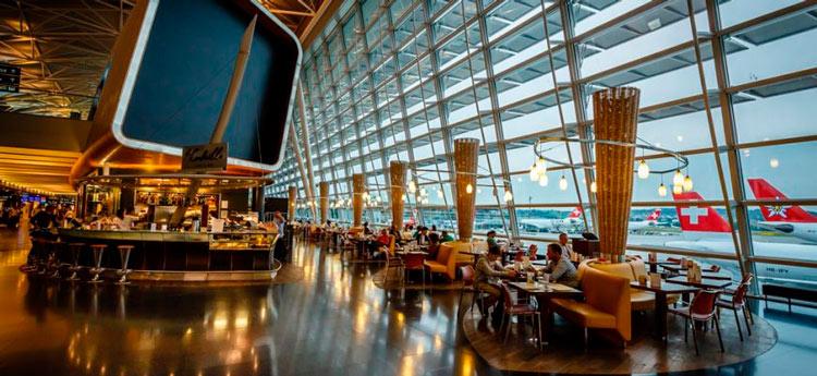 Aeropuerto Zurich - Los 5 mejores aeropuertos para hacer escala