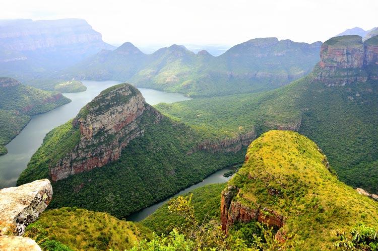 Blyde River Canyon Mpumalanga Sudáfrica - Cinco razones para visitar Sudáfrica