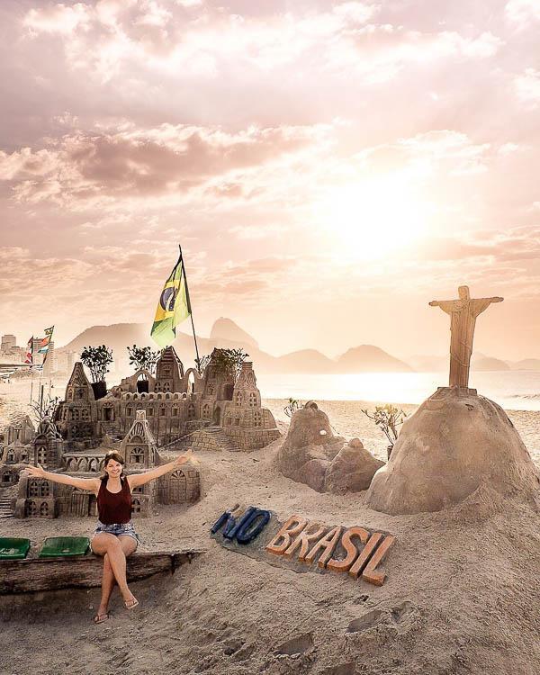 Brazil Copacabana credit purpurpineapples playas instagram - Las 10 playas más populares del mundo en Instagram