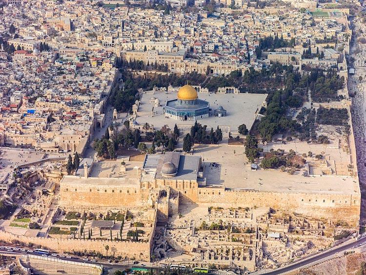 Ciudad vieja Jerusalen Israel Andrew Shiva  - Ocho puertas de acceso que narran la historia de la milenaria Jerusalén