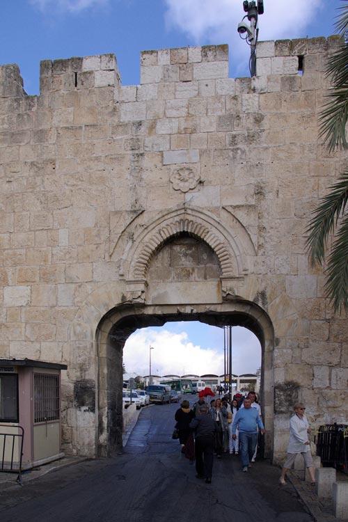 Jerusalen Israel Dungtor Berthold Welner Puerta de la basura - Ocho puertas de acceso que narran la historia de la milenaria Jerusalén