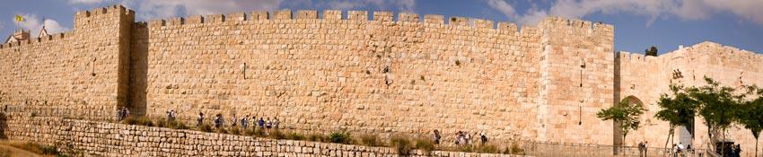 Panorama puerta Jaffa Jerusalen Israel - Ocho puertas de acceso que narran la historia de la milenaria Jerusalén