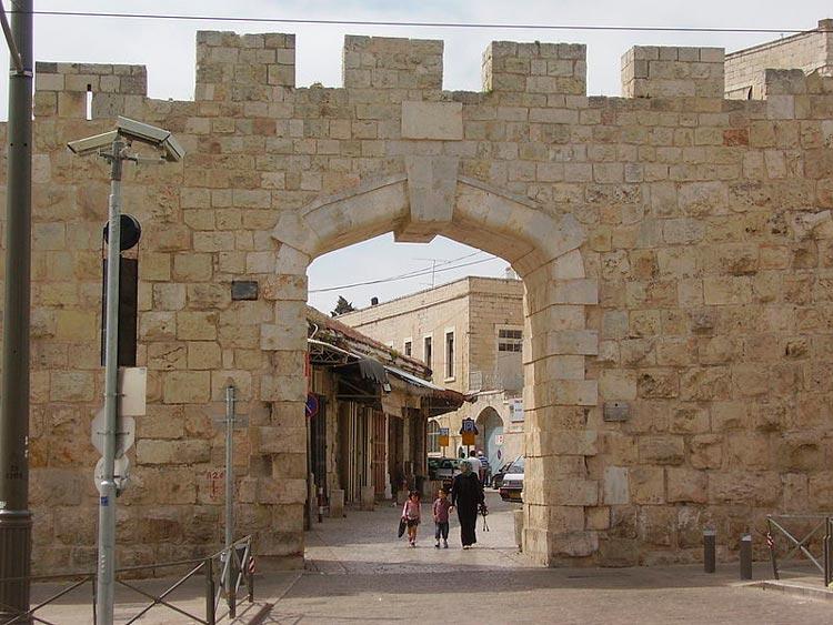 Puerta Nueva Dr. Avishai Teicher Jerusalen Israel - Ocho puertas de acceso que narran la historia de la milenaria Jerusalén