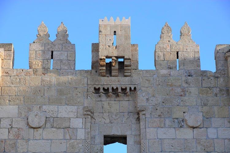 Puerta de Damasco Jerusalen Israel - Ocho puertas de acceso que narran la historia de la milenaria Jerusalén