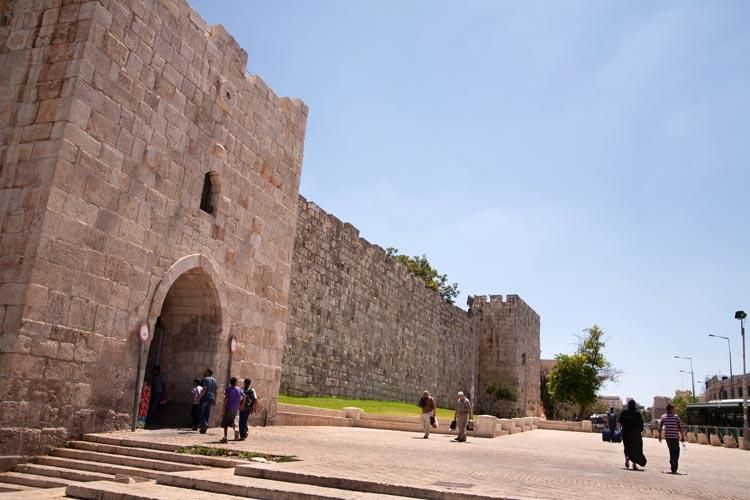 Puerta de Herodes Jerusalen Israel - Ocho puertas de acceso que narran la historia de la milenaria Jerusalén