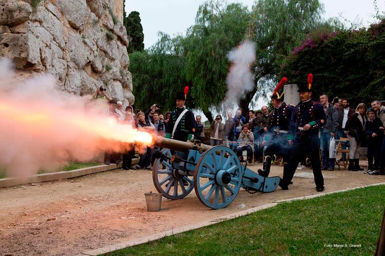 01 Tarragona 1800 min asedio francés - Revive el asedio francés de 1811 en Tarragona entre recreaciones históricas