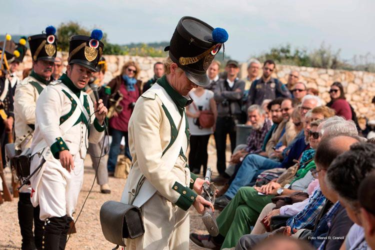 02 TARRAGONA 1800 min asedio francés - Revive el asedio francés de 1811 en Tarragona entre recreaciones históricas