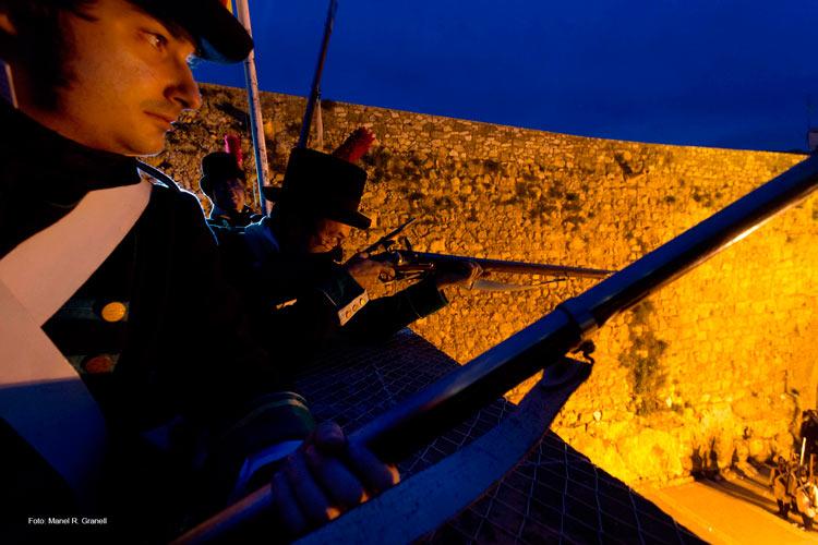 03 Tarragona 1800 min asedio francés - Revive el asedio francés de 1811 en Tarragona entre recreaciones históricas