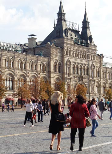 DSC07744. Moscú Rusia © Carmen Cespedosa  OPEN COMUNICACION - La nueva Moscú se muestra orgullosa de arriba abajo