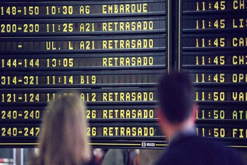 avion vuelo retrasado - Flightright aconseja a los viajeros de negocios