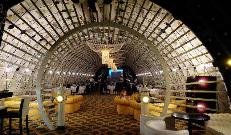 restaurante bunker 42 2. Moscú Rusia © Carmen Cespedosa  OPEN COMUNICACION - La nueva Moscú se muestra orgullosa de arriba abajo
