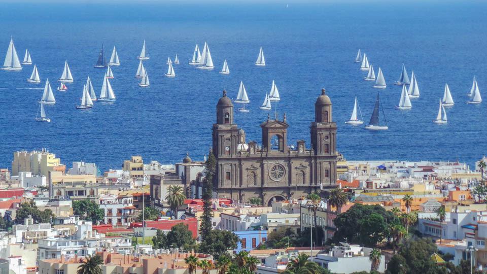 Salida ARC - Cinco motivos para viajar este otoño a Las Palmas de Gran Canaria