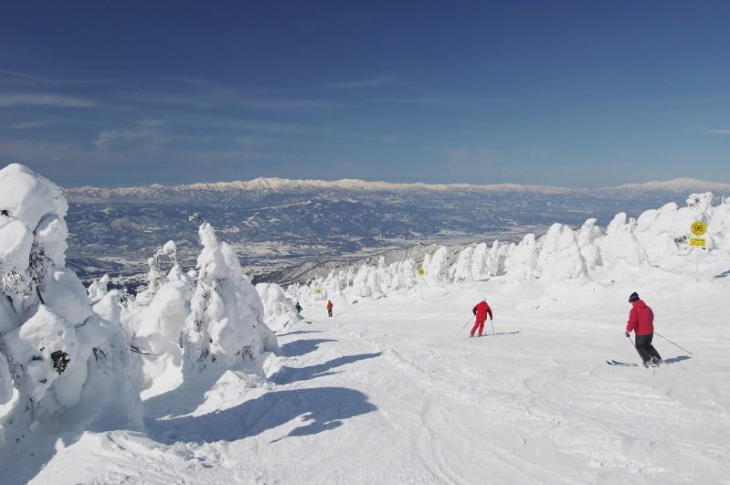 Zao ski©JNTO 8 - Japón inicia su temporada de esquí