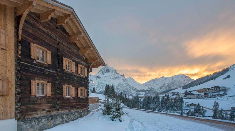 Chalet de lujo 2 Lech © HomeAway via Holidu 4 Alpes - Chalets de ensueño en los Alpes para unas navidades de postal