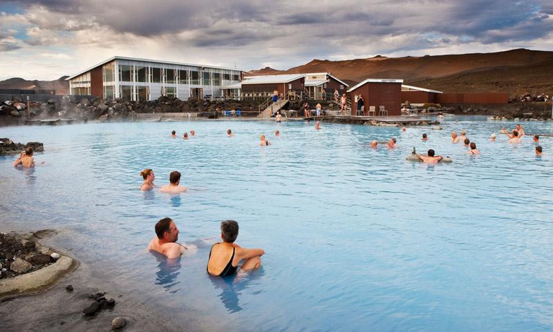 Islandia Norte baños naturales myvatni termas - Islandia, wellness y gastronomía en FITUR 2019