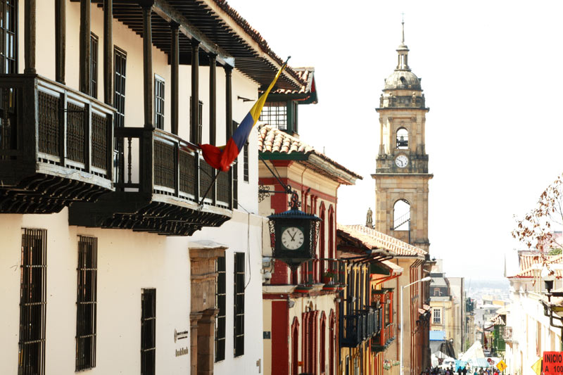 La Candelaria Bogotá Colombia © ProColombia - Colombia llena de cultura y naturaleza FITUR 2019