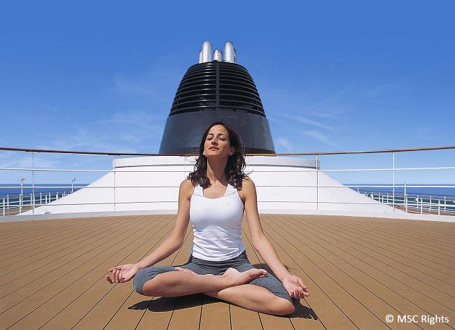 1. Hacer deporte 4 MSC Rights - Los cinco mejores trucos para no engordar en un crucero