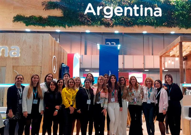 ITB Berlin stand Argentina 2 2019 - Argentina se hizo presente en la multitudinaria feria ITB de Berlín