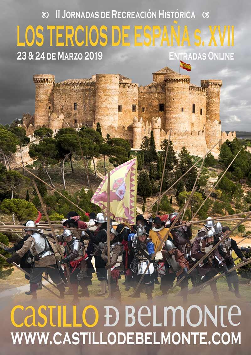 """Tercios Belmonte 2019 3 - Asiste a la recreación histórica los """"Tercios de España"""" en Belmonte"""