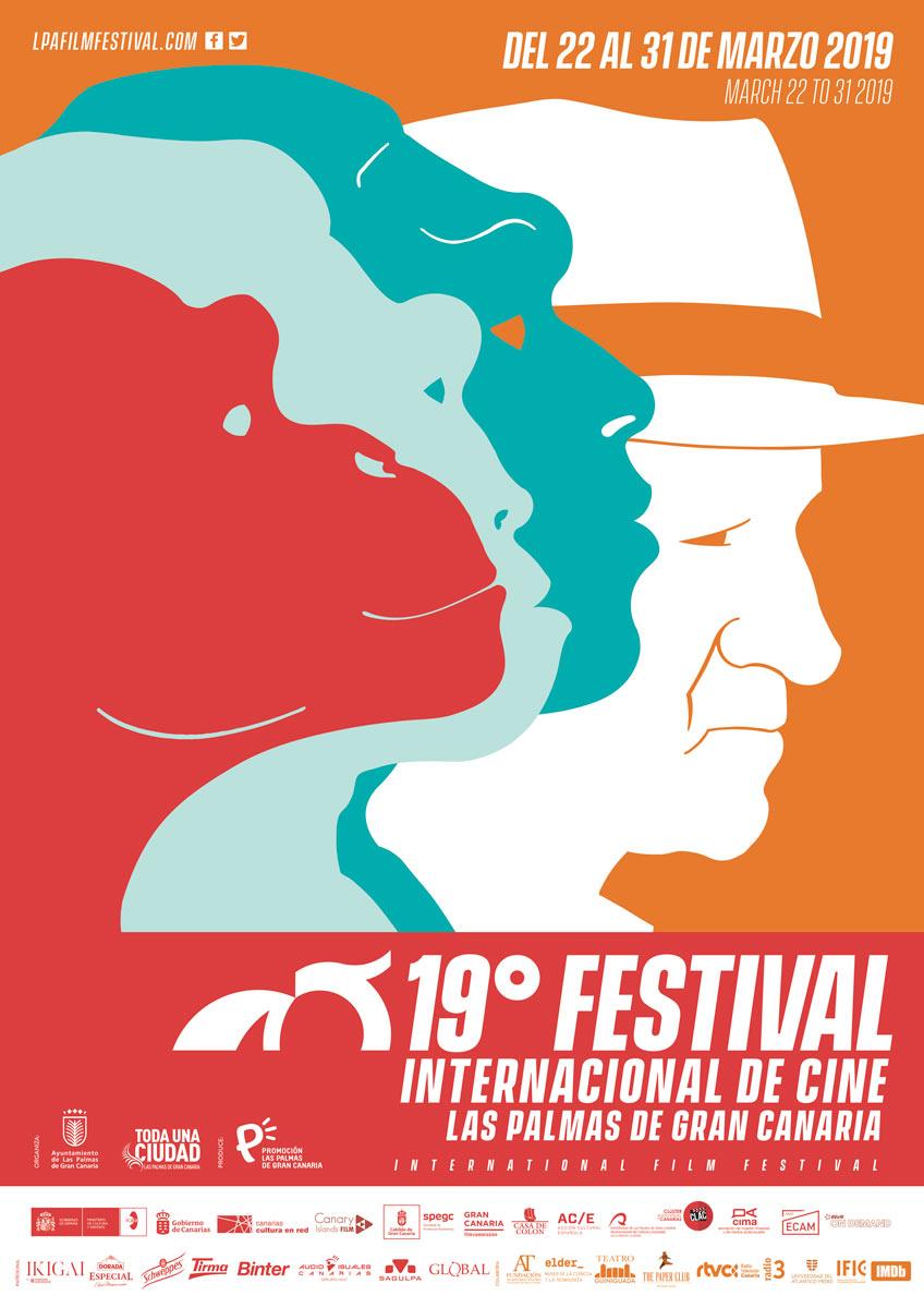 cartel 19FICLPGC LPA Film Festival Gran Canaria - Las Palmas de Gran Canaria y su primavera del cine libre