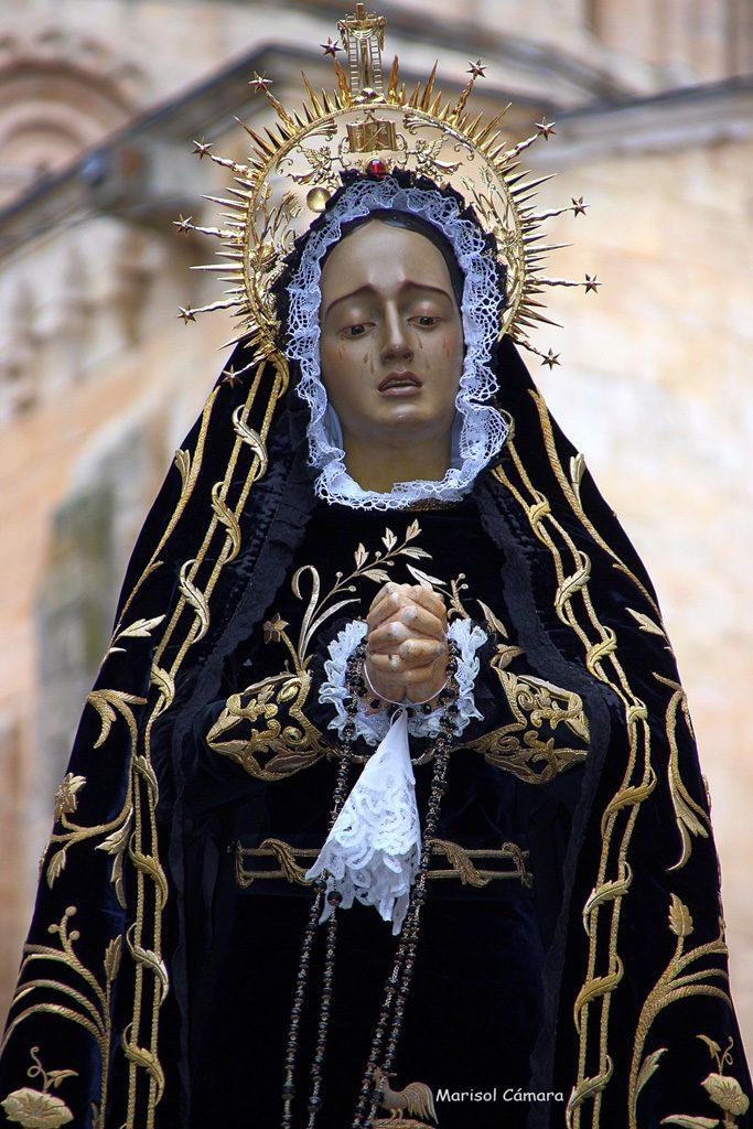 04Semana Santa Toro. Virgen de la Soledad Marisol Cámara Ruiz 683x1024 - ESCÁPATE A TORO ESTA SEMANA SANTA