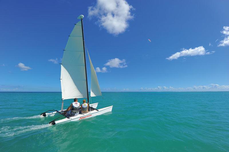 Beachcomber Resorts Hotels vela Mauricio mar - Mauricio, el paraíso para los amantes de los deportes acuáticos