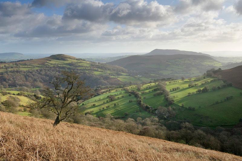 Black Mountains 2 © Stephen Spraggon Gales MV0 - Gales, alejarse del ruido con estilo