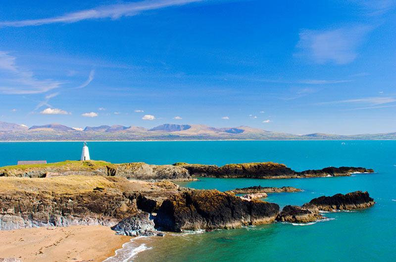 Isla Llanddwyn Gales MV0 - Gales, alejarse del ruido con estilo