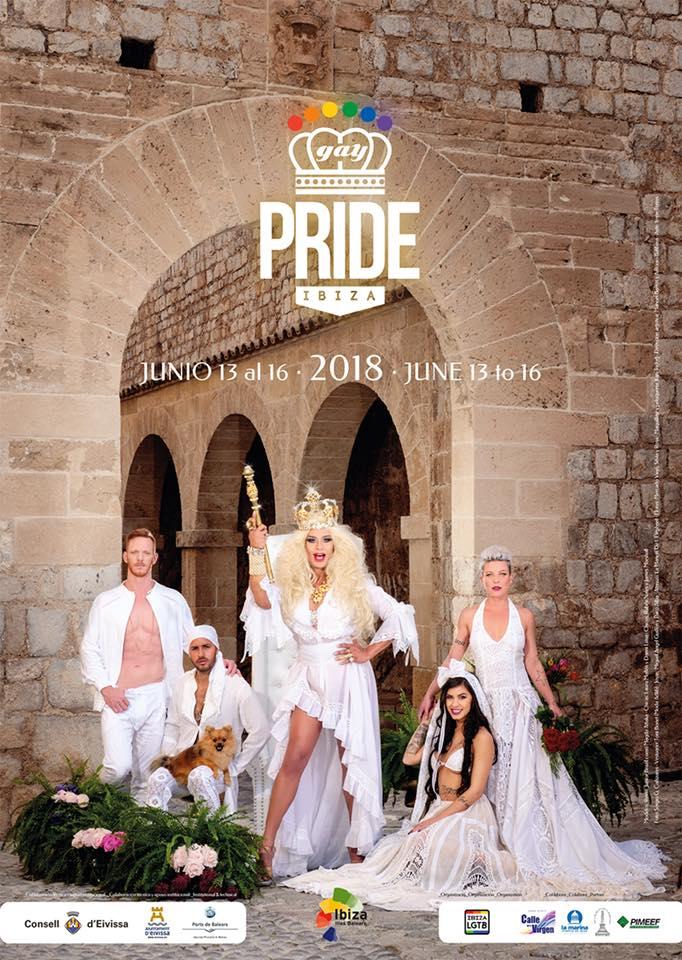 Cartel Ibiza Gay Pride 2018 - Ibiza Gay Pride 2019: motivo de Orgullo