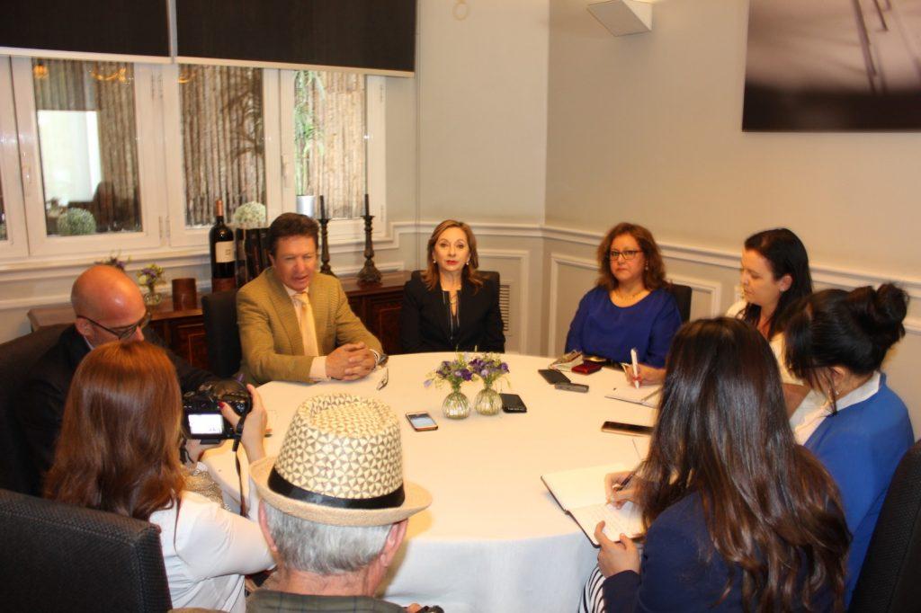 Conversatorio de prensa 1024x682 - Ecuador refuerza su relación con líderes del sector turístico español