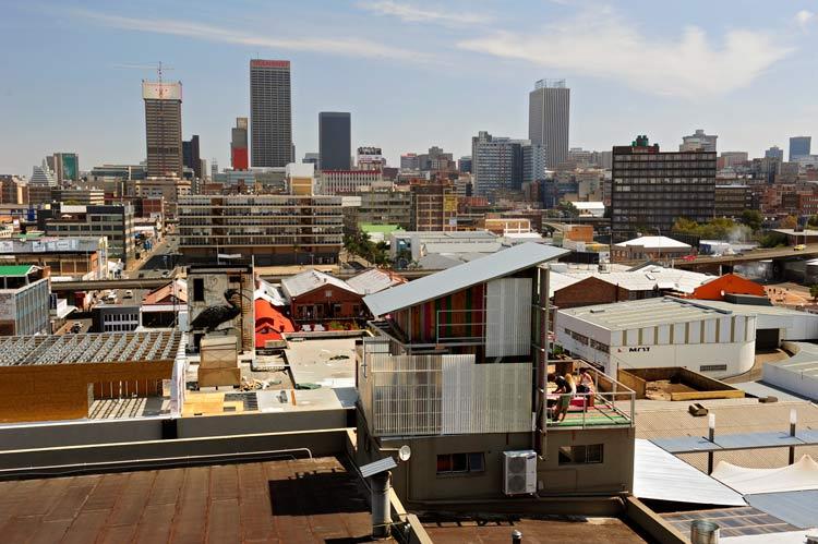 Maboneng Turismo de Sudáfrica 8 - El barrio Maboneng, Johannesburgo: de zona industrial a distrito de vanguardia