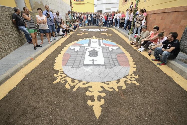 Las Palmas de Gran Canaria La Alfombras procesión EL CARMEN en La Isleta @Tony Hernández - Los encantos del barrio de La Isleta, Las Palmas de Gran Canaria