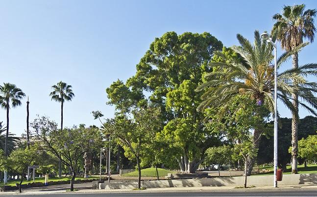 León Parque de la Granja crédito WikimediaCommons 1 - ¡Al calor buenos parques!