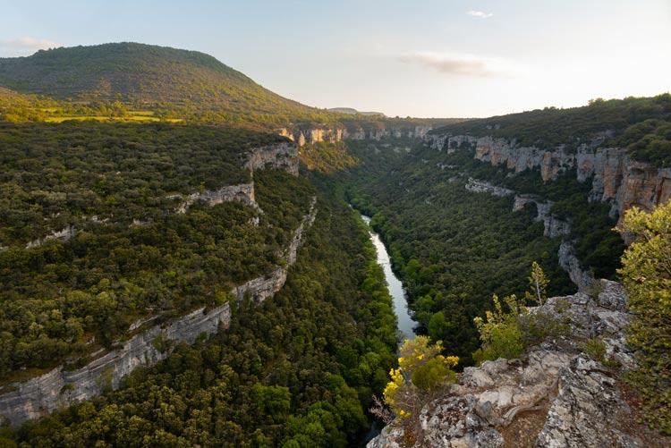 Mirador cañón del río Ebro Burgos - Balcones y miradores naturales de Burgos