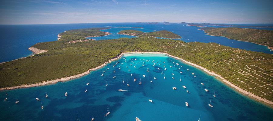 Playa de Sakarun – Dugi Otok – Foto Ivo Biocina – Fuente CNTB - Croacia y sus increíbles playas, un recorrido veraniego
