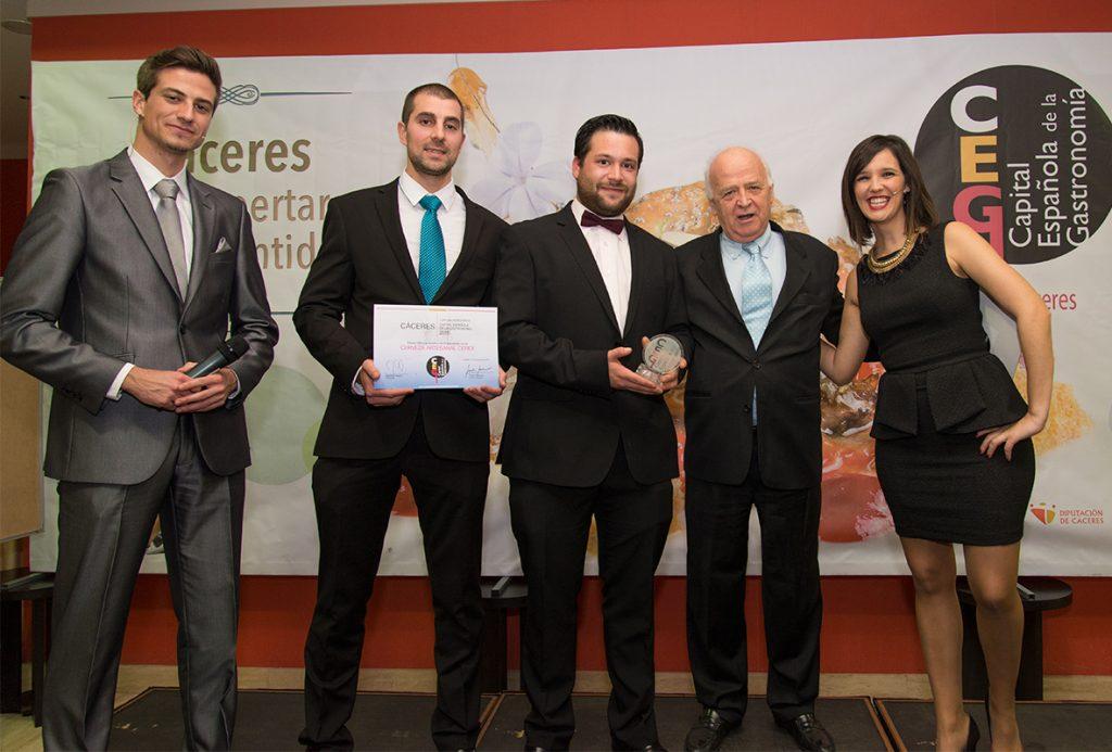 Premio Capital Española de la Gastronomía 2015 1024x693 - Se inicia el proceso para elegir la capital gastronómica 2020