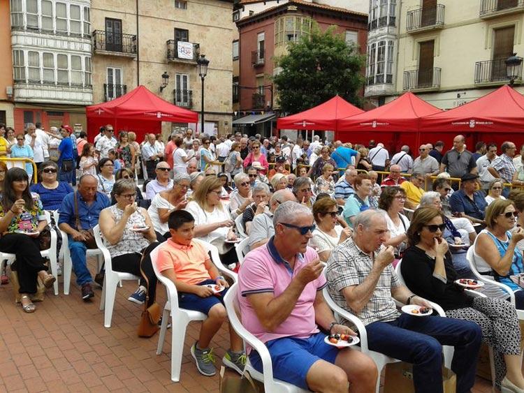 caderechas cerezas miranda de ebro burgos 1 - Se celebra la 2ª Fiesta Gastronómica de la Cereza de las Caderechas