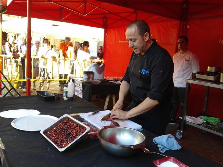 caderechas cerezas miranda de ebro burgos 2 - Se celebra la 2ª Fiesta Gastronómica de la Cereza de las Caderechas