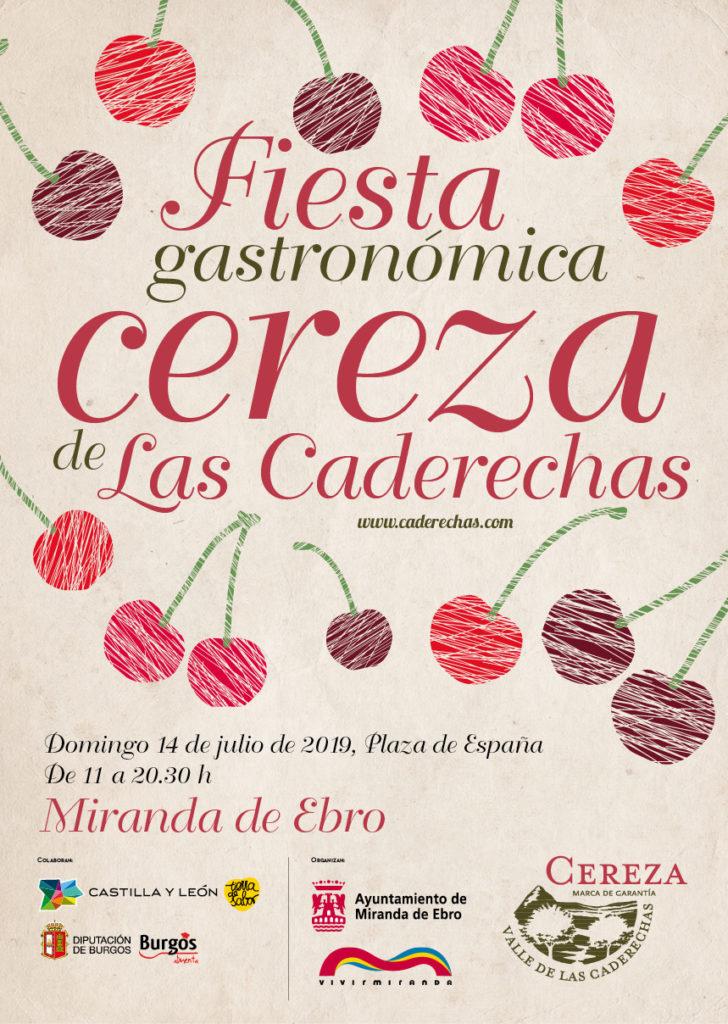 caderechas cerezas miranda de ebro burgos - Se celebra la 2ª Fiesta Gastronómica de la Cereza de las Caderechas