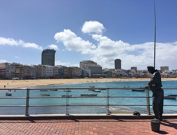 pescador - Los encantos del barrio de La Isleta, Las Palmas de Gran Canaria